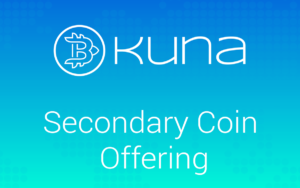 Secondary Coin Offering (SCO) биржи KUNA